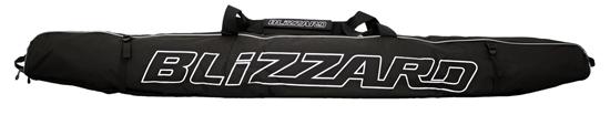 Obrázek z vaky na lyže BLIZZARD Ski bag Premium for 1 pair, black/silver, 145-165 cm, AKCE