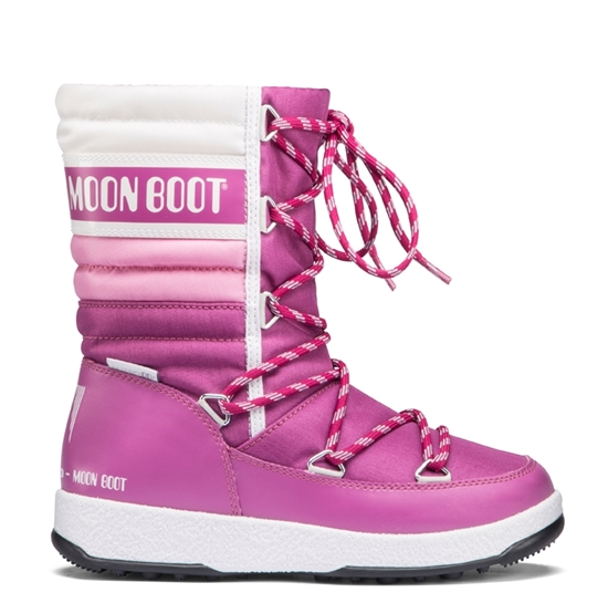 Obrázek z boty MOON BOOT WE QUILTED JR, 004 orchid/pink/white, AKCE