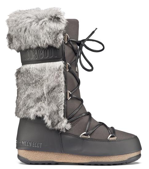 Obrázek z boty MOON BOOT MONACO TE, 001 black/mud, AKCE