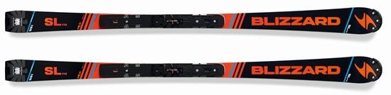 Obrázek z sjezdové lyže BLIZZARD SL FIS Racing Masters + WC plate, R 13 m, 17/18