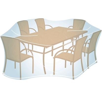 Obrázek Ochranný obal na venkovní  nábytek velikosti L (obdélník)