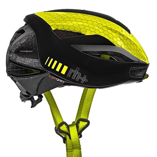 Obrázek z helma RH+ Lambo, shiny black/yellow fluo, AKCE