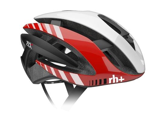 Obrázek z helma RH+ Z Alpha, shiny white/shiny red/matt black, AKCE