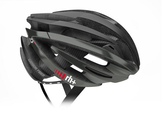 Obrázek z helma RH+ ZY Carbon Fiber, matt black/matt black, AKCE