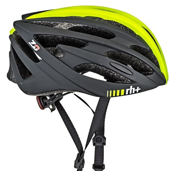 Obrázek z helma RH+ Z Zero, matt yellow fluo/matt black