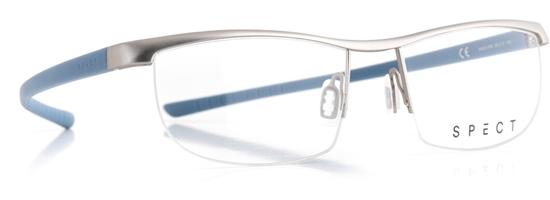Obrázek z brýlové obruby SPECT Frame, HUG1-005, light gun, nordic sky, 55-17-145