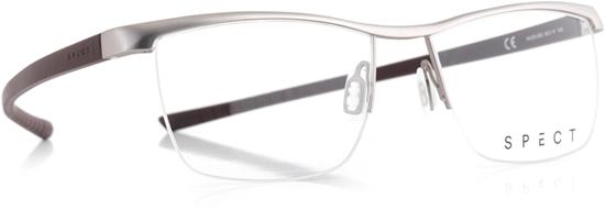 Obrázek z brýlové obruby SPECT Frame, HUG3-005, matt light gun/matt sable brown, 55-17-145