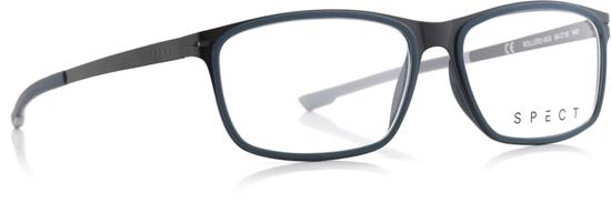 Obrázek z brýlové obruby SPECT SPECT Frame, ROLLER2-003, matt black/matt greyish blue rubber/matt black/matt greyish blue/matt light grey rubber, 54-15-140