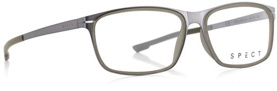 Obrázek z brýlové obruby SPECT SPECT Frame, ROLLER2-004, matt brushed light gun/matt milky military green rubber/matt brushed ligh gun/matt military green rubber, 54-15-140