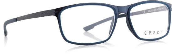 Obrázek z brýlové obruby SPECT SPECT Frame, ROLLER2-005, matt dark blue/matt dark blue rubber/matt dark blue/matt greyish blue rubber, 54-15-140