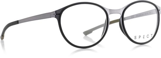Obrázek z brýlové obruby SPECT Frame, ROLLER3-003, light gun, black, 49-18-140