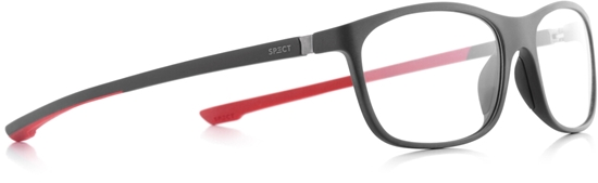 Obrázek z brýlové obruby SPECT Frame, SHIFT2-005, matt dark grey/matt dark gres/matt dark red rubber, 57-15-140