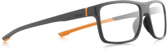 Obrázek z brýlové obruby SPECT Frame, TRACK2-004, dark grey, orange, 57-17-145