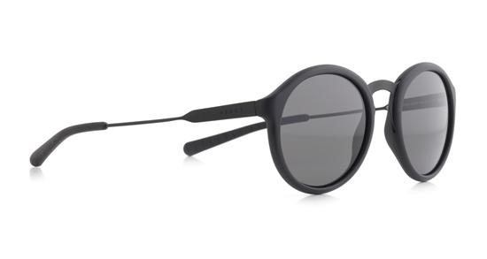 Obrázek z sluneční brýle SPECT Sun glasses, PASADENA-002P, black, black, smoke POL, 49-20-145