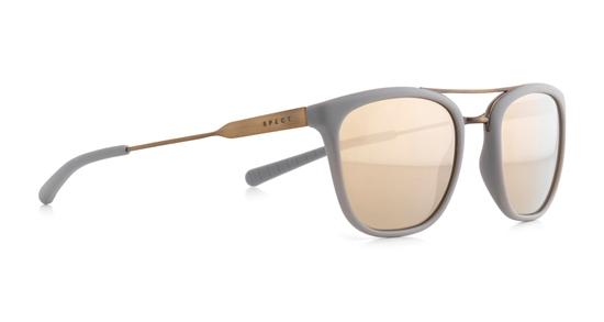 Obrázek z sluneční brýle SPECT Sun glasses, PATAGONIA-003P, warm grey, warm grey, brown gradient with gold flash POL, 51-21-145