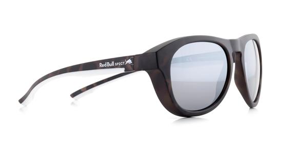 Obrázek z sluneční brýle RED BULL SPECT Sun glasses, KINGMAN-002P, black, brown, brown with gold mirror POL, 51-19-145