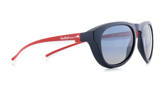 Obrázek z sluneční brýle RED BULL SPECT Sun glasses, KINGMAN-004P, brown, red, smoke with red mirror POL, 51-19-145