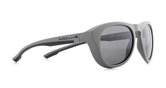 Obrázek z sluneční brýle RED BULL SPECT Sun glasses, KINGMAN-006P, light grey, white, smoke gradient with silver flash POL, 51-19-145