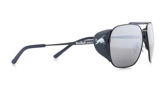 Obrázek z sluneční brýle RED BULL SPECT Sun glasses, PIKESPEAK-003P, blue, light grey, smoke with red mirror POL, 59-14-138