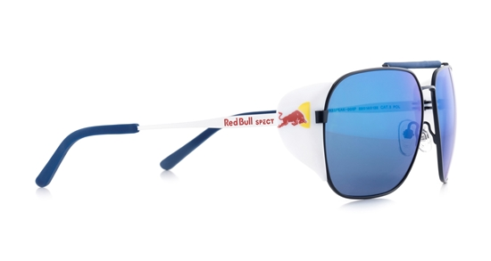 Obrázek z sluneční brýle RED BULL SPECT RB SPECT Sun glasses, PIKESPEAK-006P, light grey/brown gradient with light blue mirror POL, 59-14-138