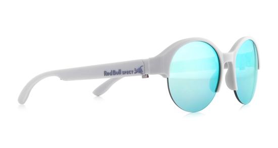 Obrázek z sluneční brýle RED BULL SPECT RB SPECT Sun glasses, WING5-005P, light grey/green with aqua mirror POL, 52-18-145