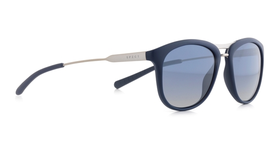 Obrázek z sluneční brýle SPECT Sun glasses, PARADISEBAY-004P, blue, blue, blue gradient with silver flash POL, 51-17-145