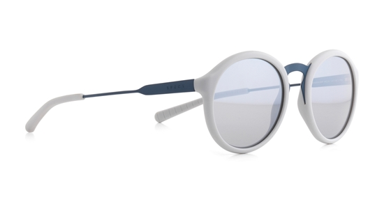 Obrázek z sluneční brýle SPECT Sun glasses, PASADENA-004P, light grey, light grey, smoke with silver flash POL, 49-20-145