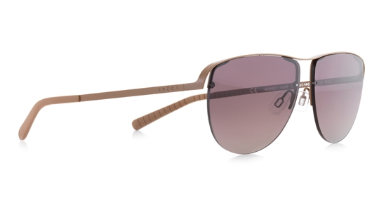 Obrázek z sluneční brýle SPECT Sun glasses, SUNSET-005P, gold, beige, brown gradient with gold flash POL, 57-13-140