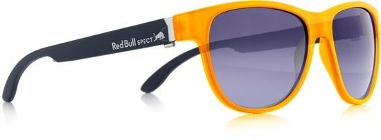 Obrázek z sluneční brýle RED BULL SPECT RB SPECT Sun glasses, WING3-003, matt yellow/smoke with blue mirror, 53-16-140, AKCE