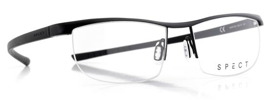 Obrázek z brýlové obruby SPECT Frame, HUG1-001, matt black/matt black, 55-17-145