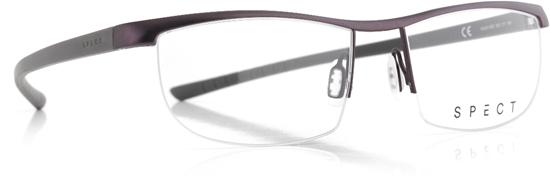 Obrázek z brýlové obruby SPECT Frame, HUG1-003, dark brown, military green, 55-17-145