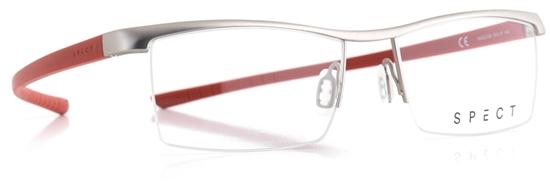 Obrázek z brýlové obruby SPECT Frame, HUG2-005, light gun, red, 55-17-145