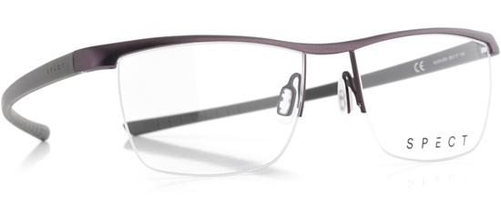 Obrázek z brýlové obruby SPECT Frame, HUG3-003, dark brown, military green, 55-17-145