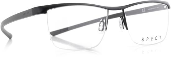 Obrázek z brýlové obruby SPECT Frame, HUG3-004, matt black/matt medium grey, 55-17-145