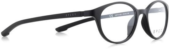 Obrázek z brýlové obruby SPECT Frame, SHIFT4-001, matt black/black, 47-18-140