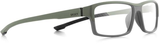 Obrázek z brýlové obruby SPECT SPECT Frame, TRACK1-009, matt olive green/matt olive green/matt black rubber, 57-15-145