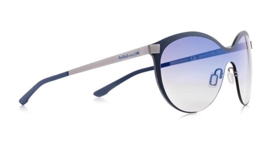 Obrázek z sluneční brýle RED BULL SPECT Sun glasses, GRAVITY3-003, gun, black, smoke gradient with gradient blue flash, 128-135