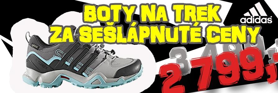 Adidas trekové boty