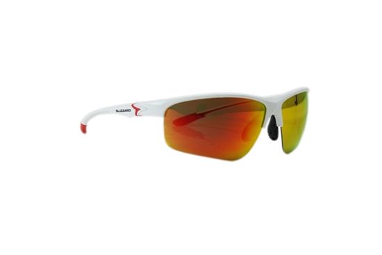 Obrázek z sluneční brýle BLIZZARD sun glasses PC651-002 white shiny, 70-20-142, AKCE