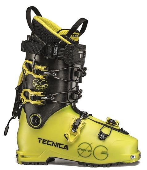 Obrázek z lyžařské boty TECNICA Zero G Tour PRO, bright yellow/black, 19/20