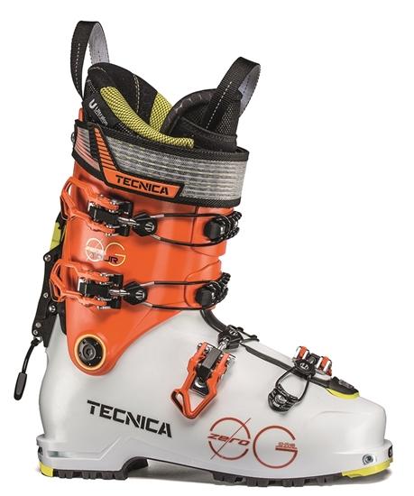 Obrázek z lyžařské boty TECNICA Zero G Tour, white/ultra orange 19/20
