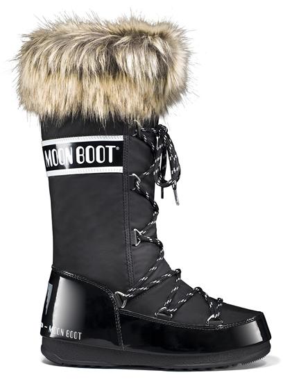 Obrázek z boty MOON BOOT WE MONACO, 001 black, AKCE
