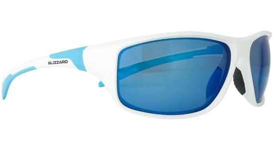 Obrázek z sluneční brýle BLIZZARD sun glasses POL202-0041 white shiny, 70-17-125, AKCE