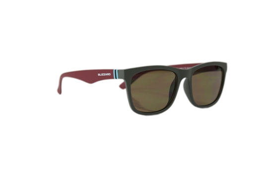 Obrázek z sluneční brýle BLIZZARD sun glasses PC4064-002, rubber dark grey, 56-15-133