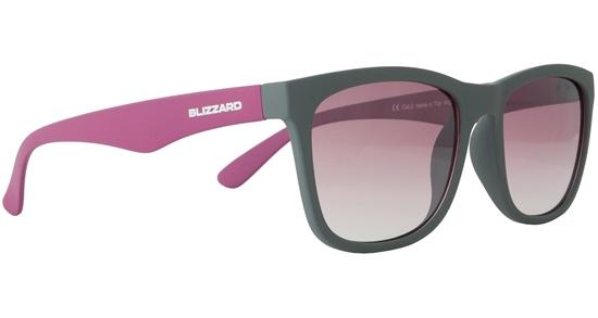 Obrázek z sluneční brýle BLIZZARD sun glasses PC4064-004, rubber dark grey, 56-15-133