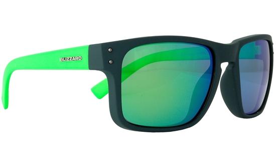 Obrázek z sluneční brýle BLIZZARD sun glasses POL606-0021 dark grey matt, 65-17-135, AKCE