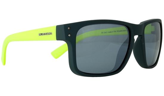 Obrázek z sluneční brýle BLIZZARD sun glasses POL606-0051 dark grey matt, 65-17-135, AKCE