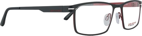 Obrázek z dioptrické brýle BLIZZARD Frame, red/black, 54-18/140