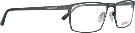 Obrázek z dioptrické brýle BLIZZARD Frame, lime green/dark gun, 55-19/140