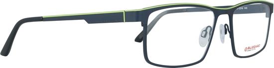 Obrázek z dioptrické brýle BLIZZARD Frame, blue/mossgreen, 57-18/140